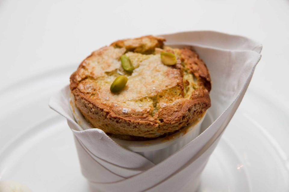 soufflé pistacchio
