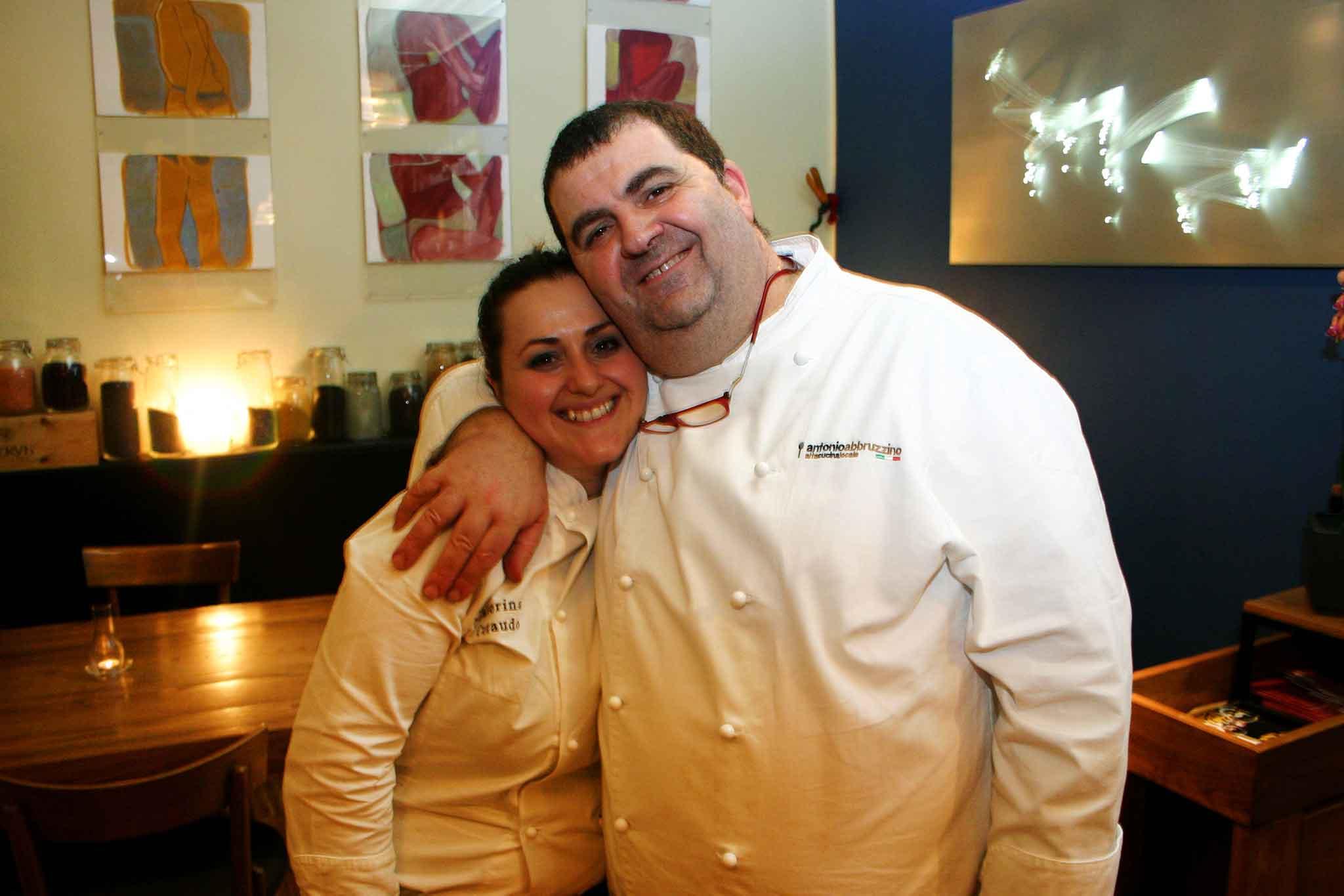 Caterina Ceraudo e Antonio Abbruzzino