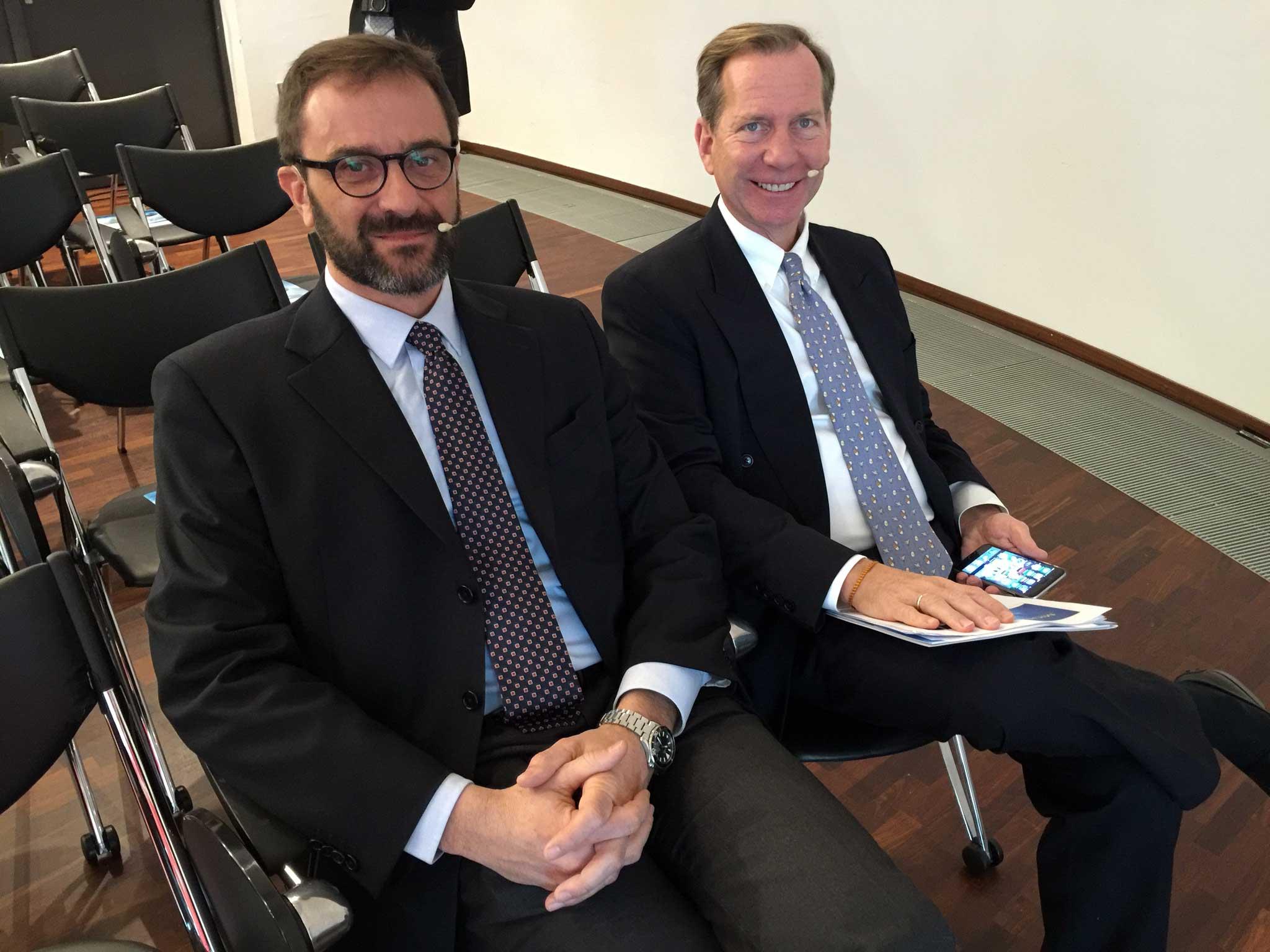 Marco Do e Michael Ellis