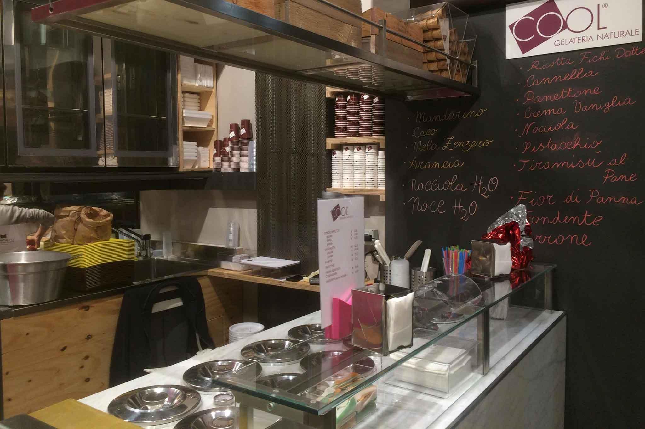Mercato del Suffragio Milano gelateria cool