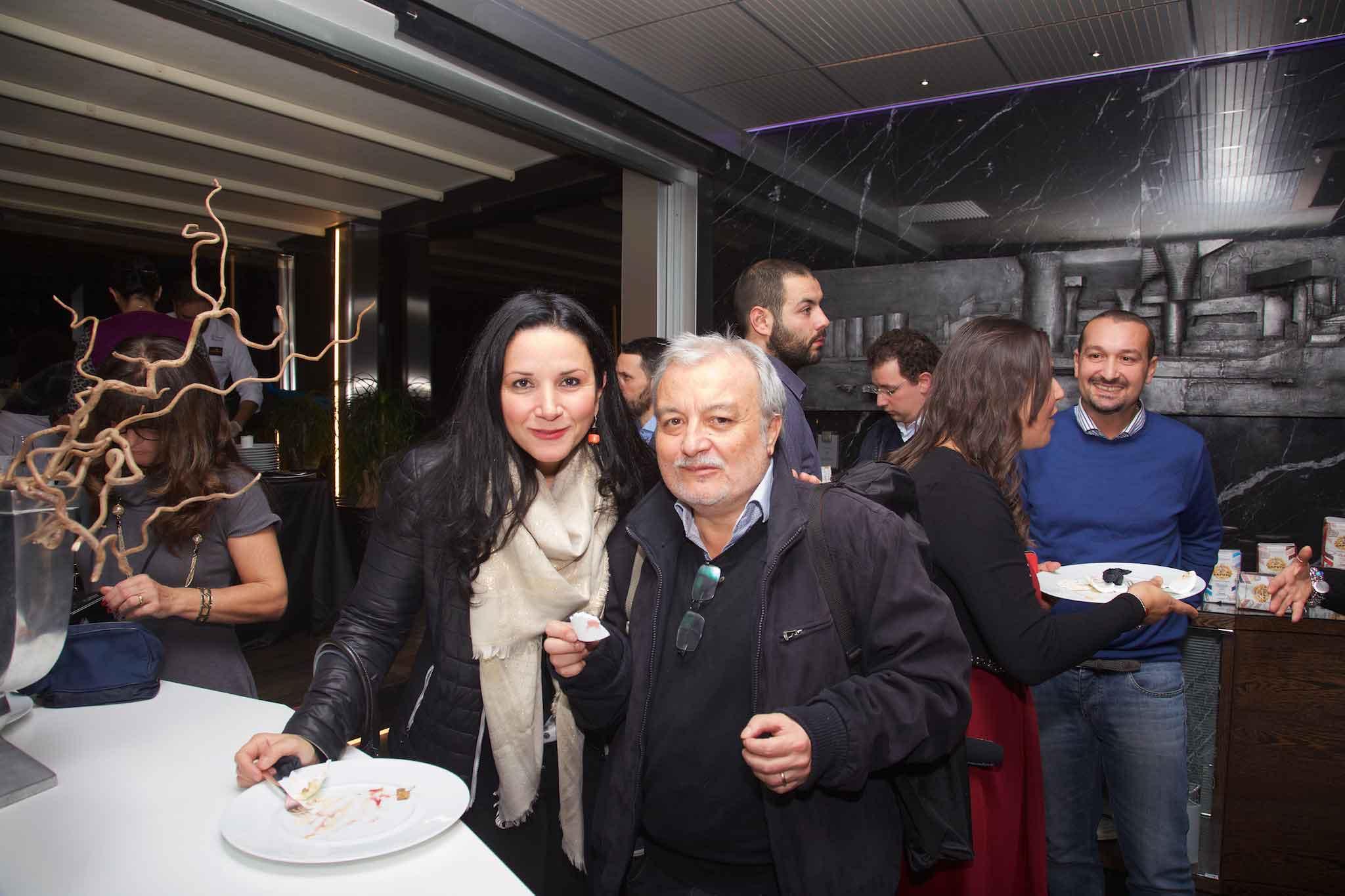 Monica Piscitelli e Francesco Bellofatto