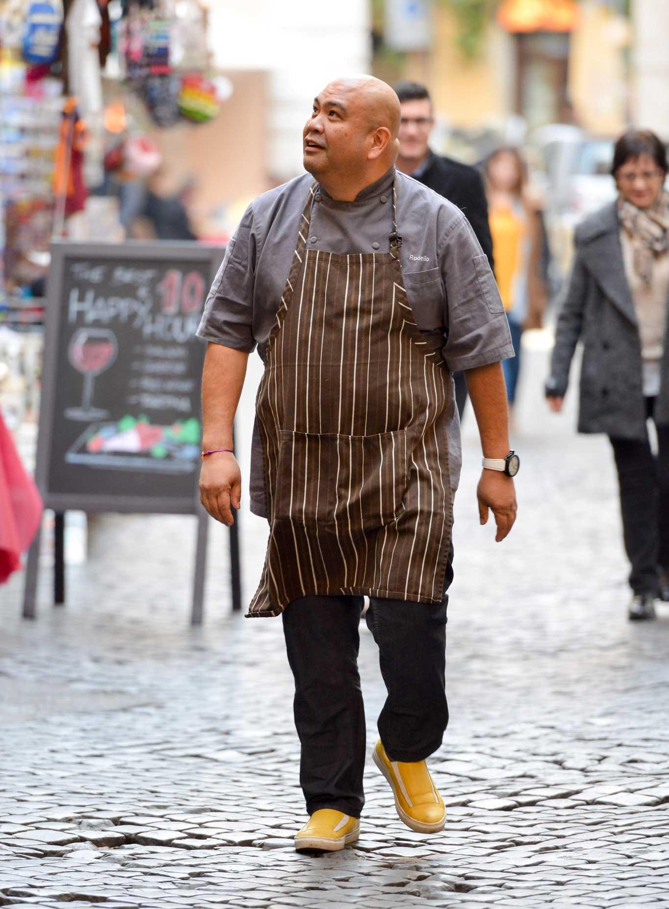 Rodelio Aglibot chef