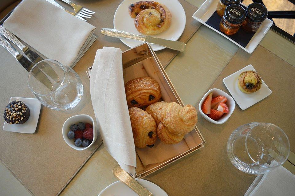 armani ristorante colazione