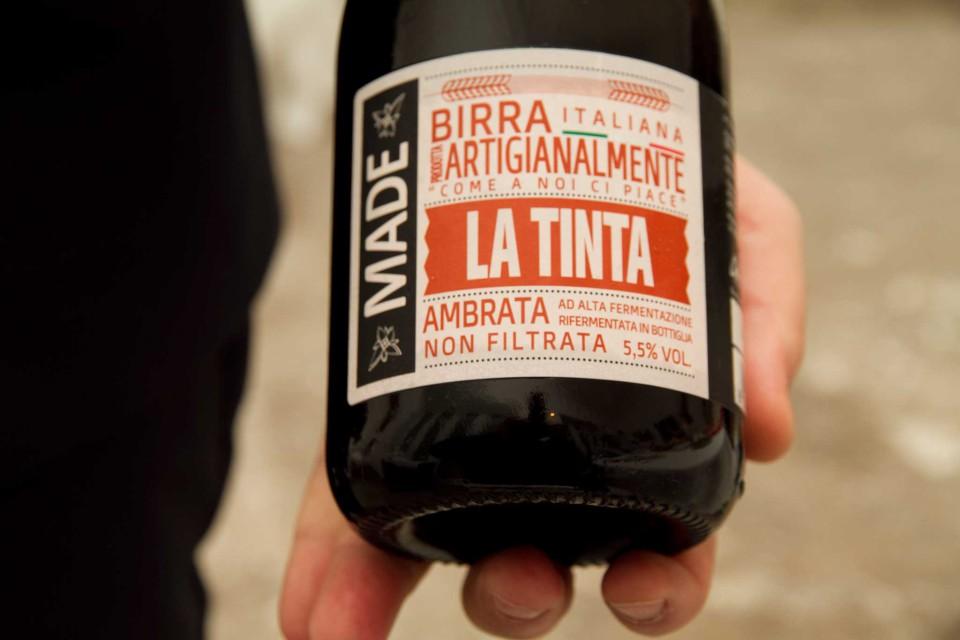birra italiana la tinta