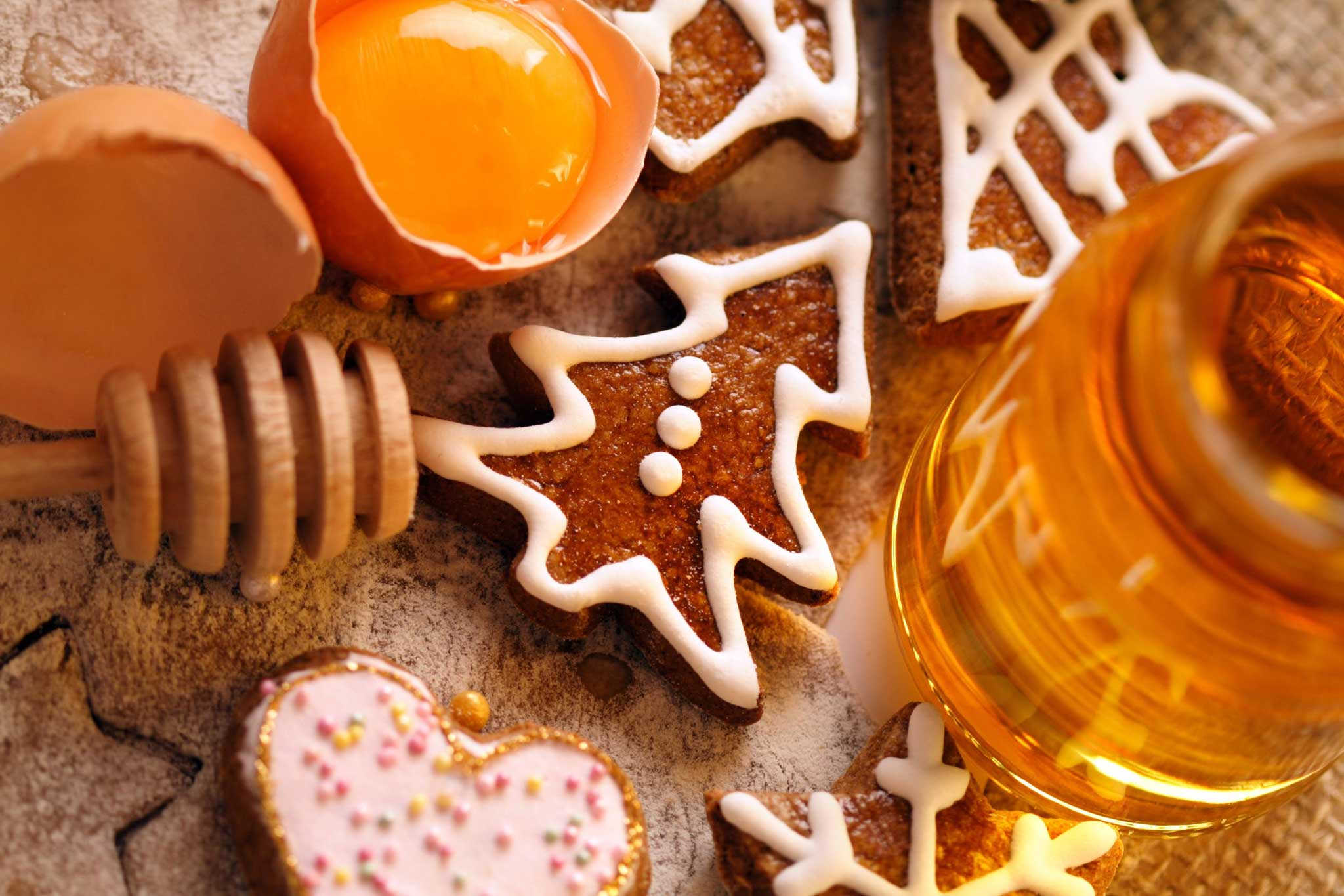 Biscotti Di Natale Umbria.Il Miele Migliore Per I Dolci Di Natale