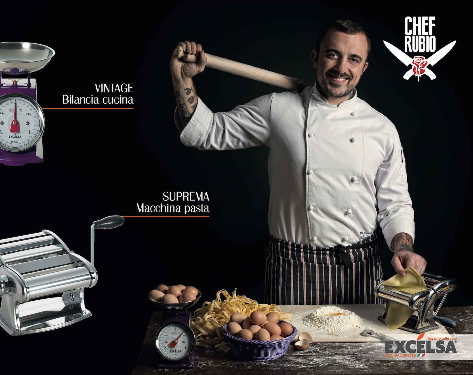 calendario Rubio chef aprile