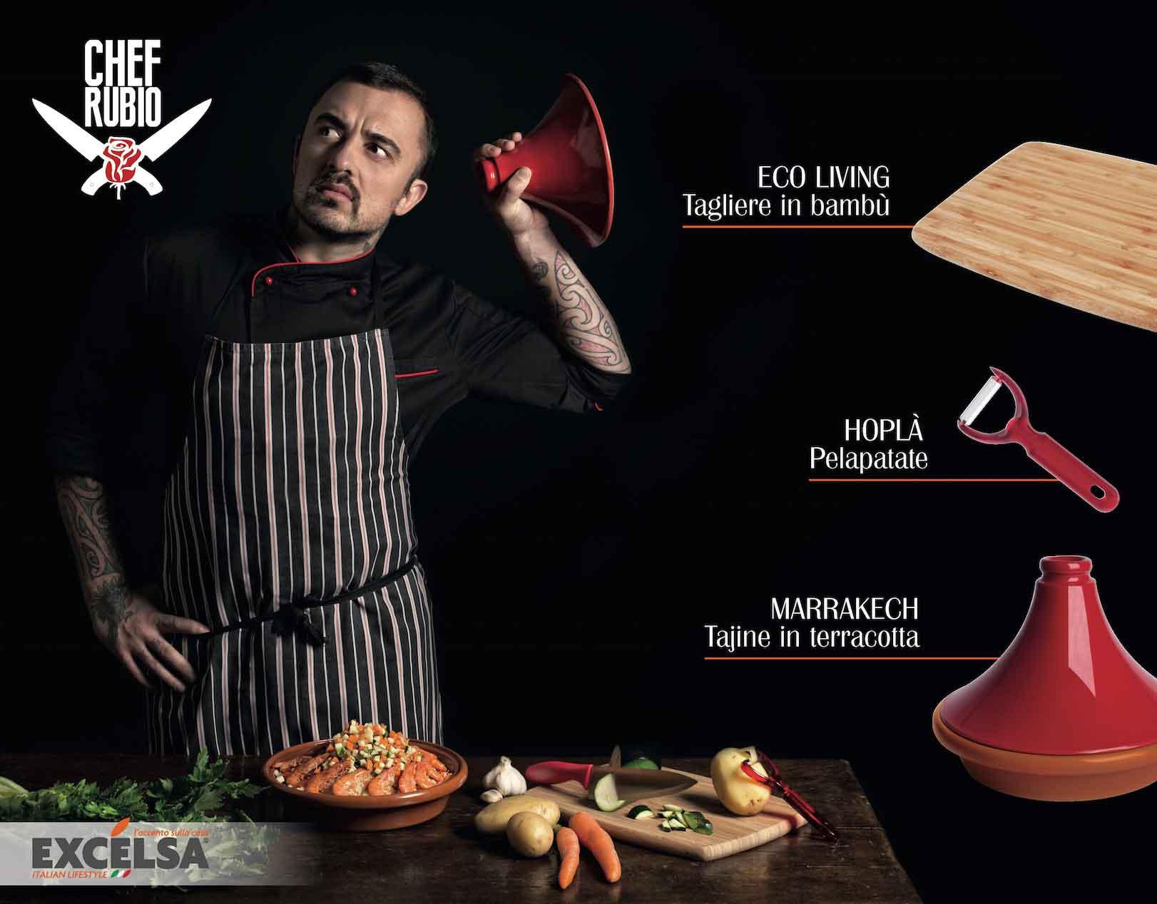 calendario Rubio chef gennaio