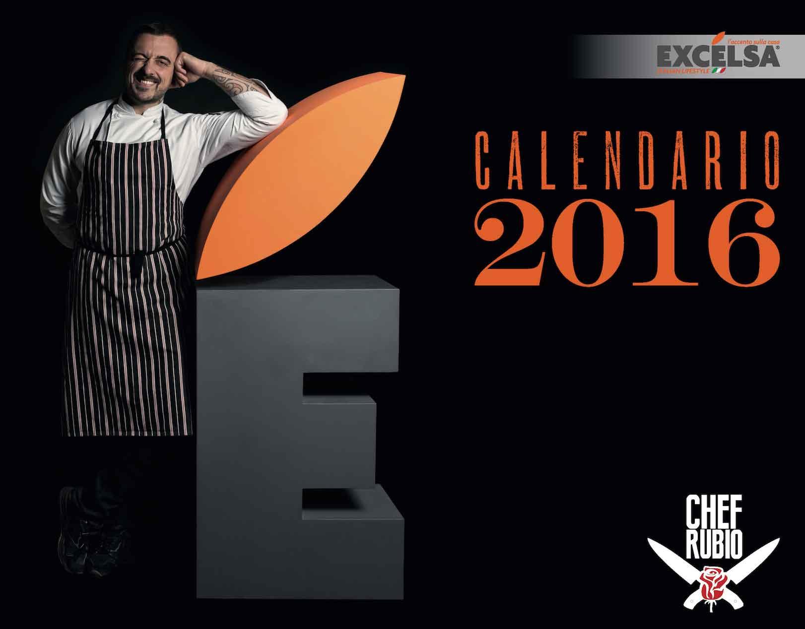 calendario Rubio chef