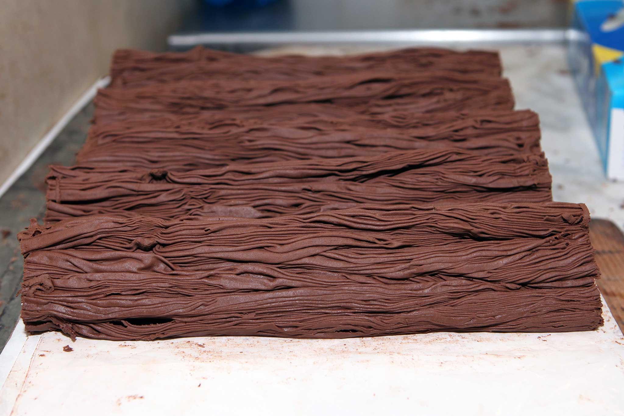 cioccolato foresta Gay Odin preparazione