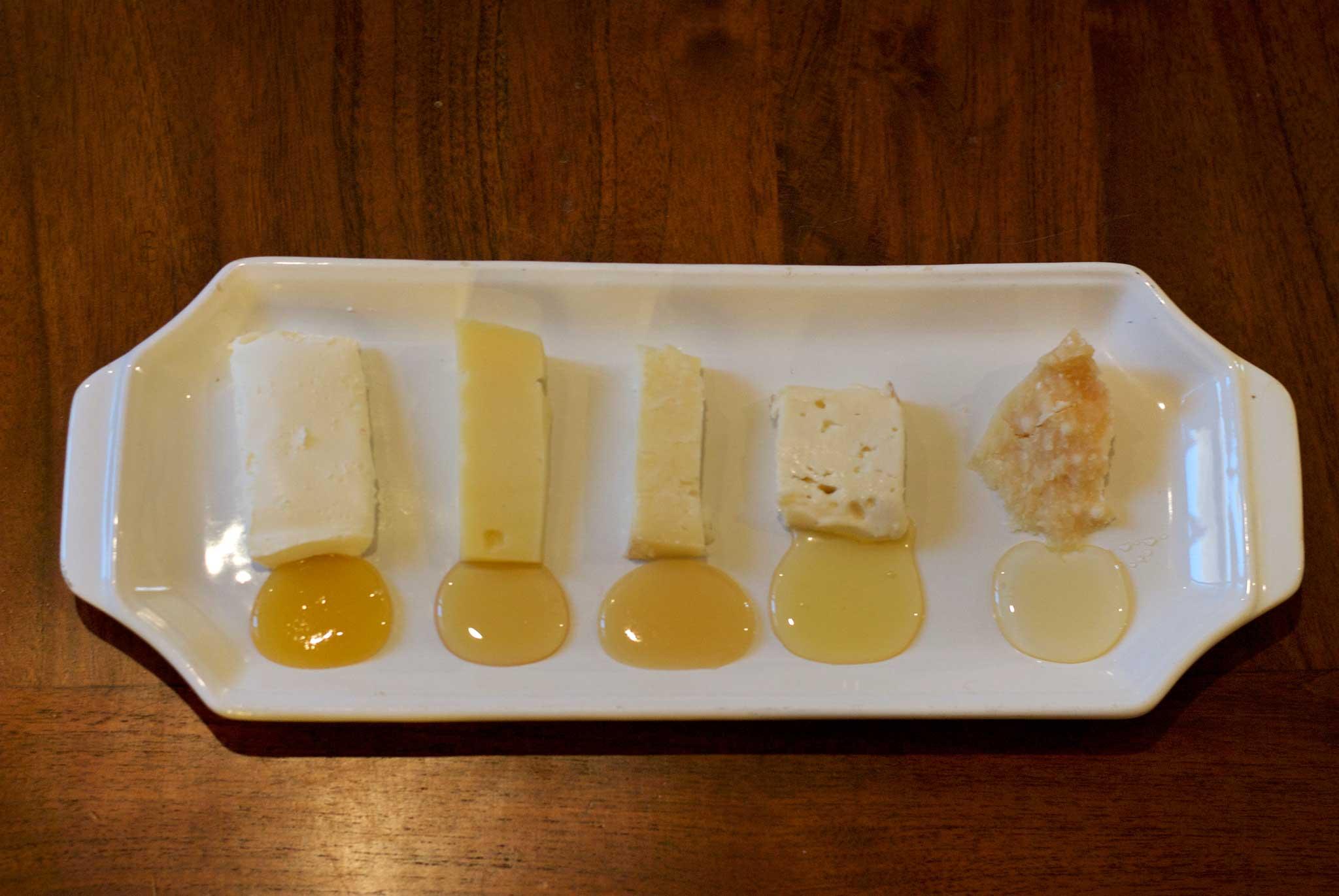 formaggio miele abbinamento