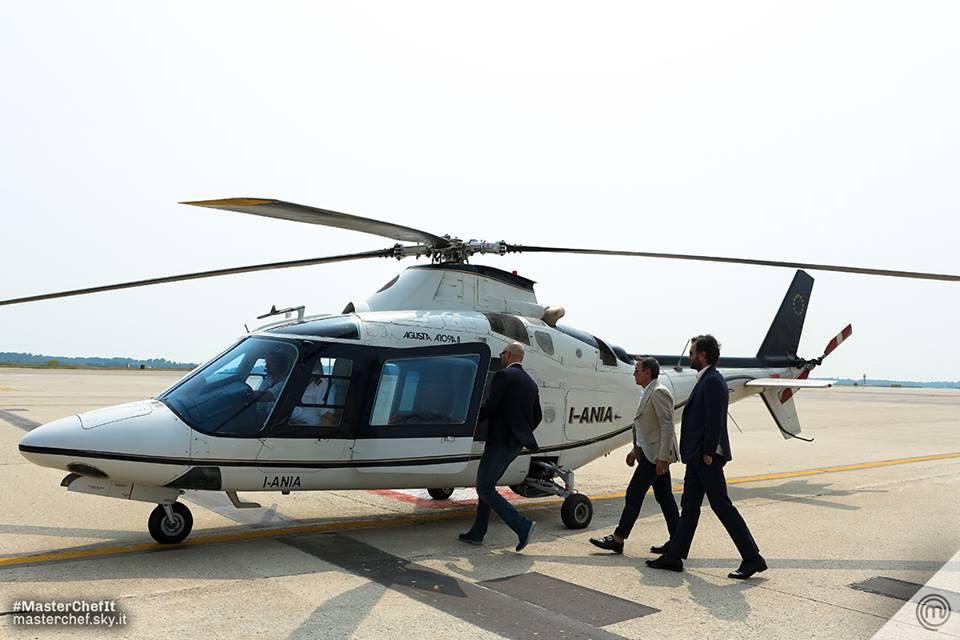 masterchef 5 elicottero