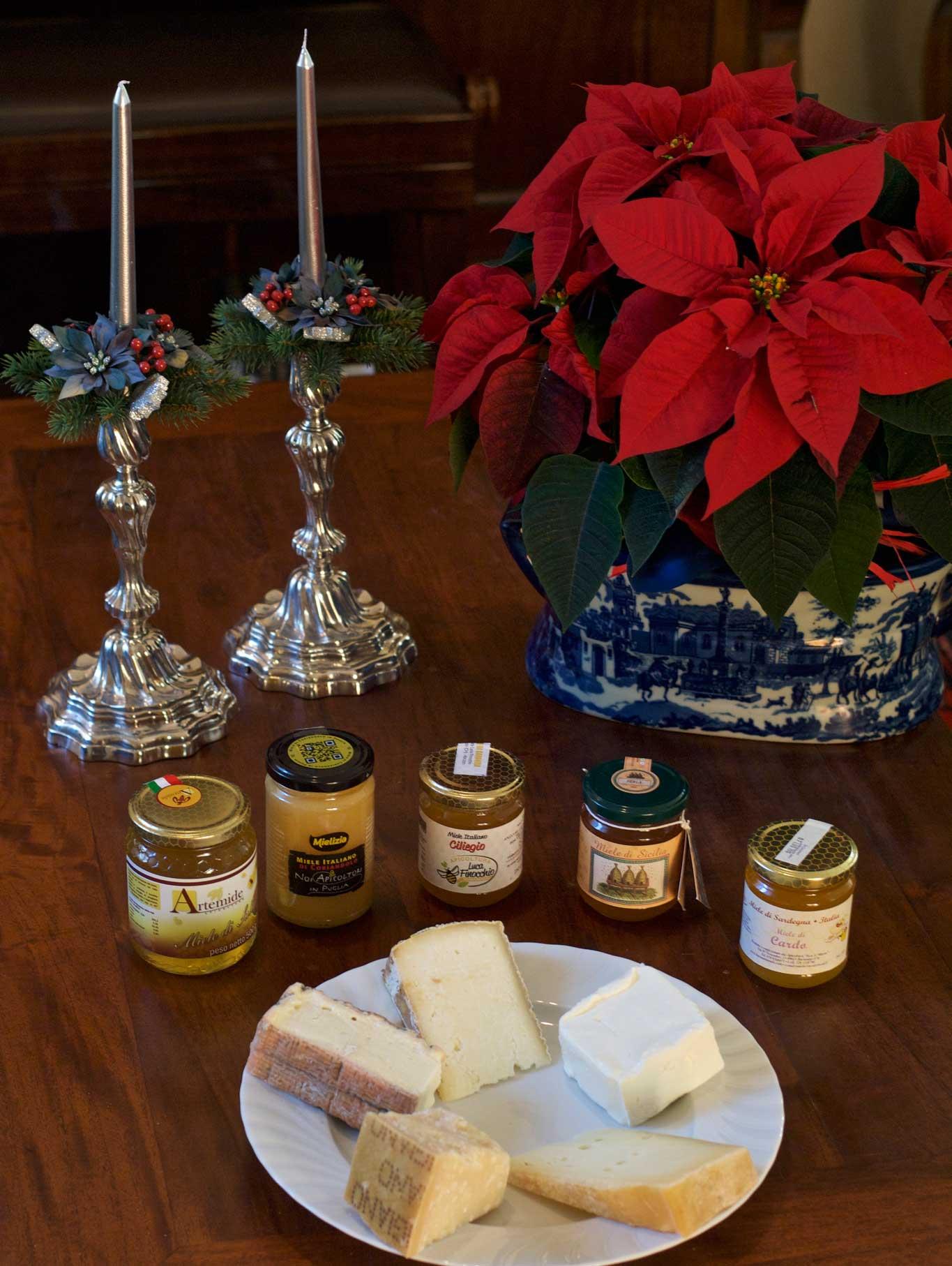 miele sul formaggio