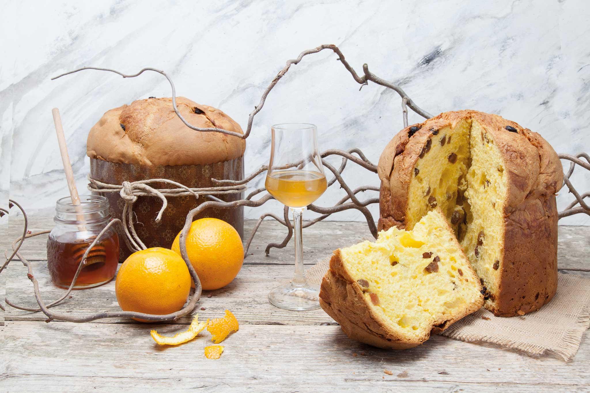 panettone miele d'acacia Giotto