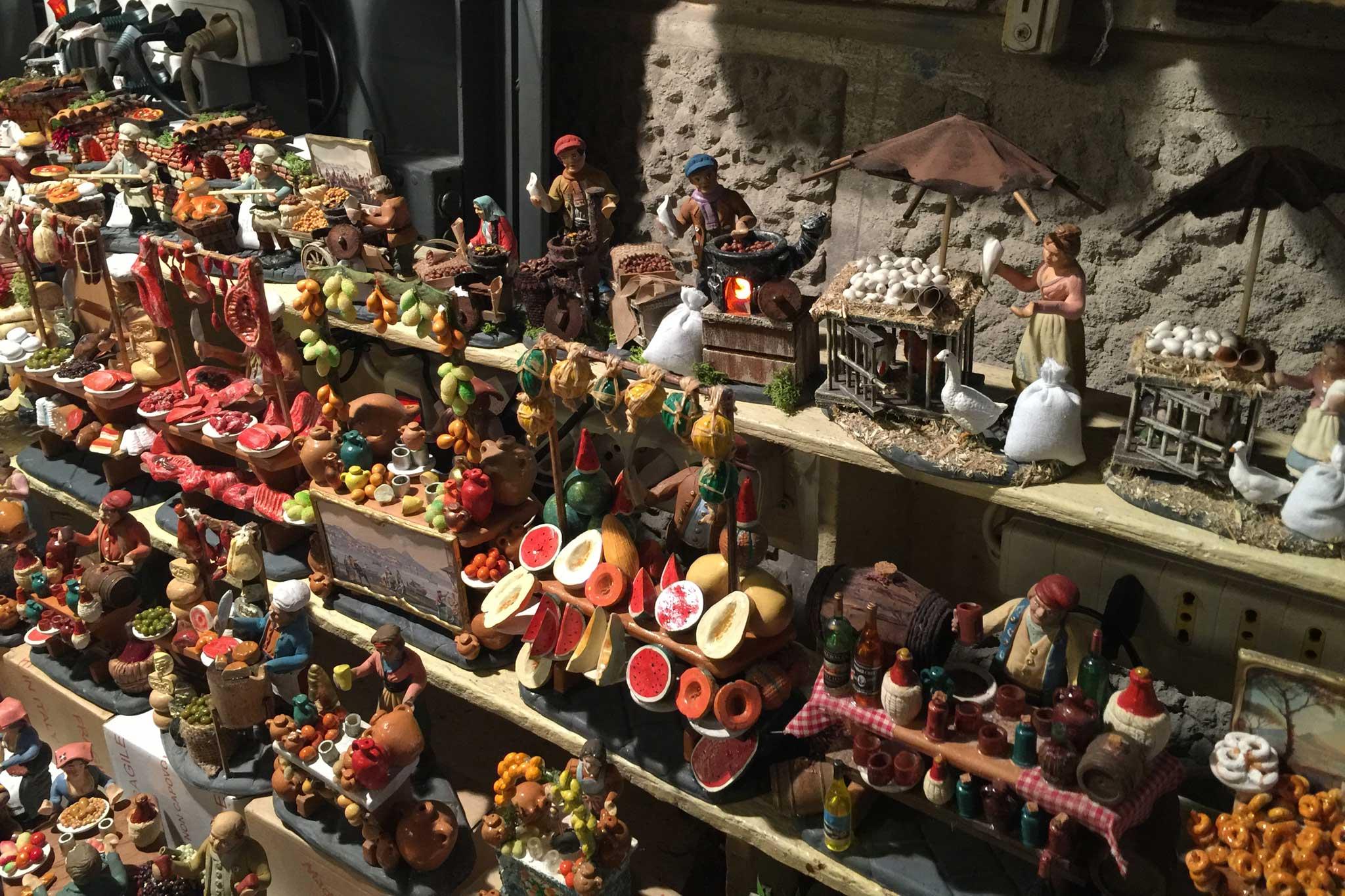 pastori presepe Napoli San Gregorio Armeno