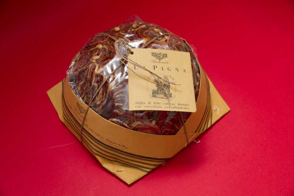 pigna fichi e cioccolato Santomiele