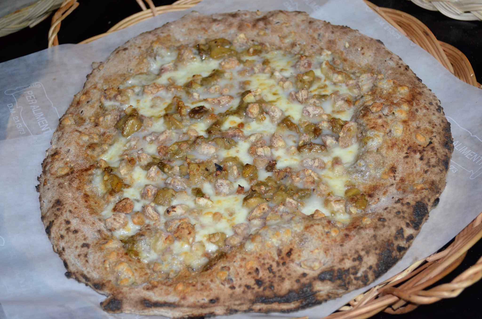 pizza 7 cereali porcini castagne