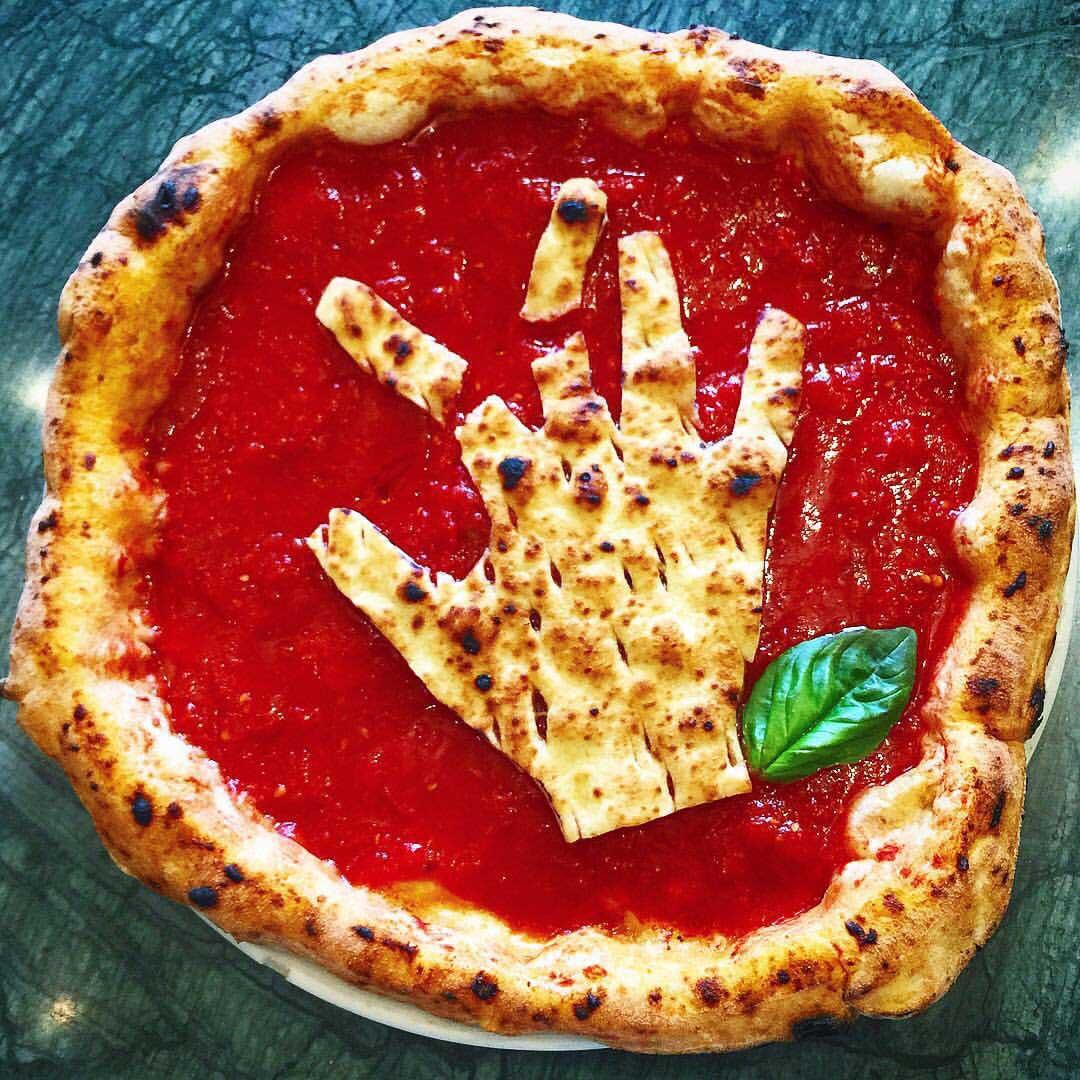 pizza Sorbillo botti Capodanno