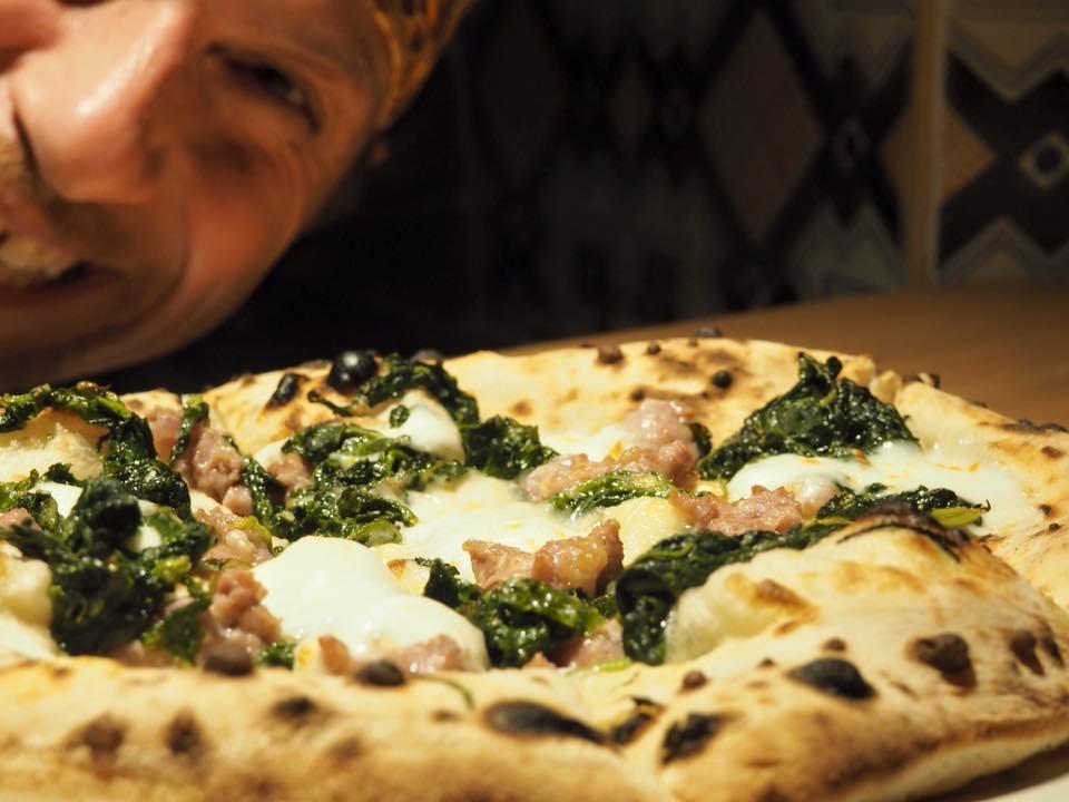 pizza broccoli e salsiccia Giovanni Santarpia