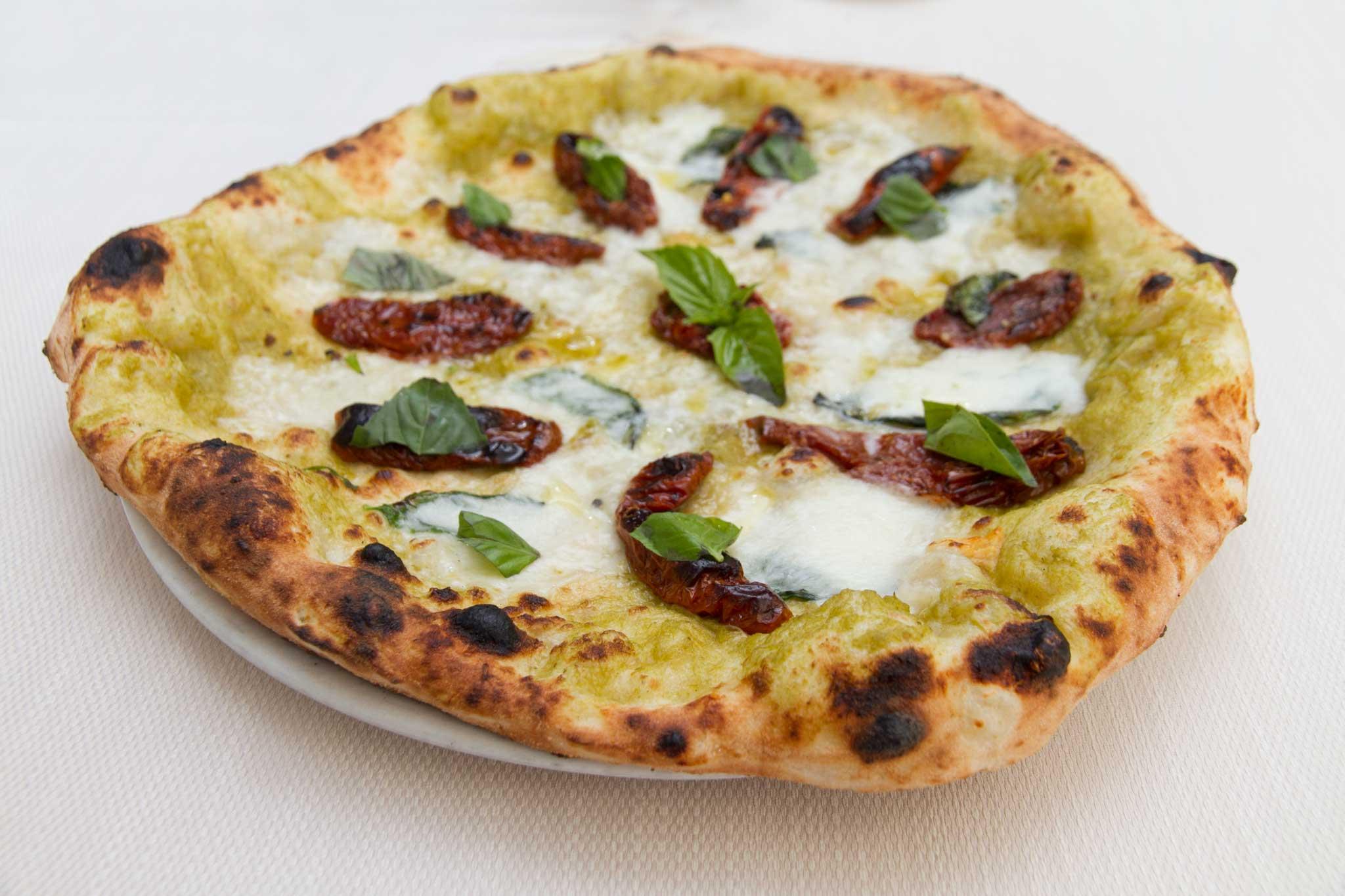 pizza wasabi friariello pomodori