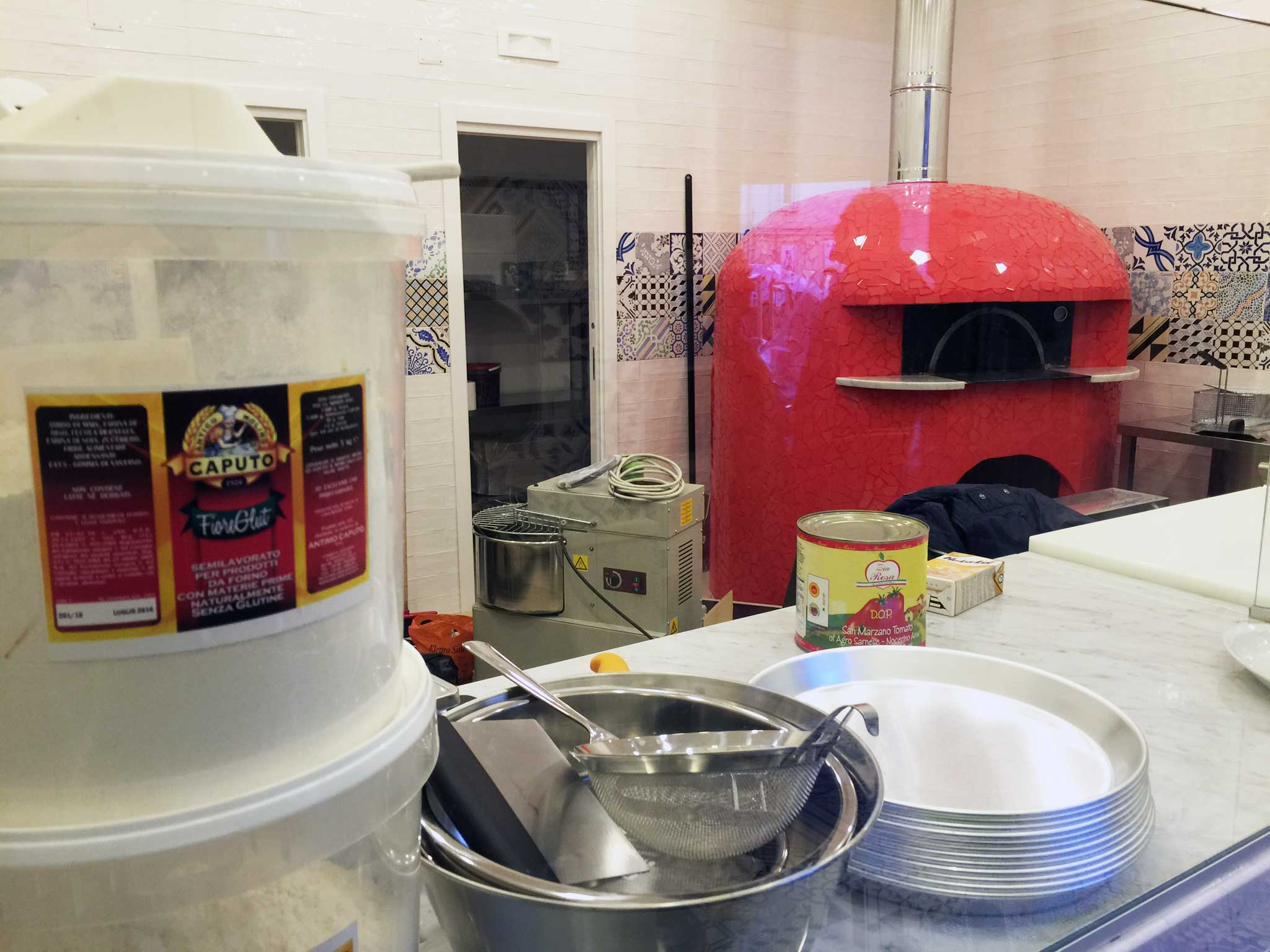 pizzeria Vesi senza Glutine Napoli