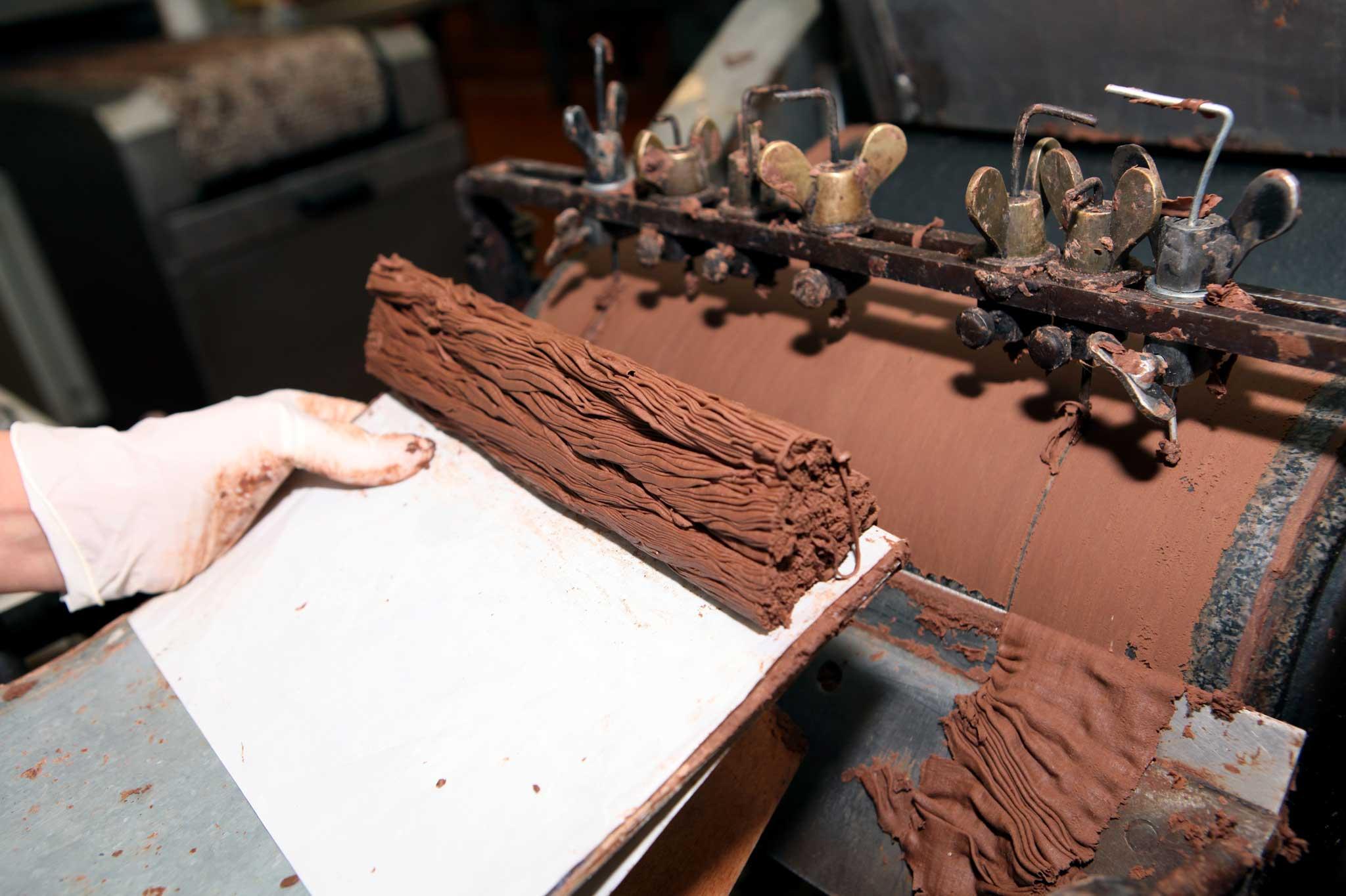 preparazione cioccolato foresta