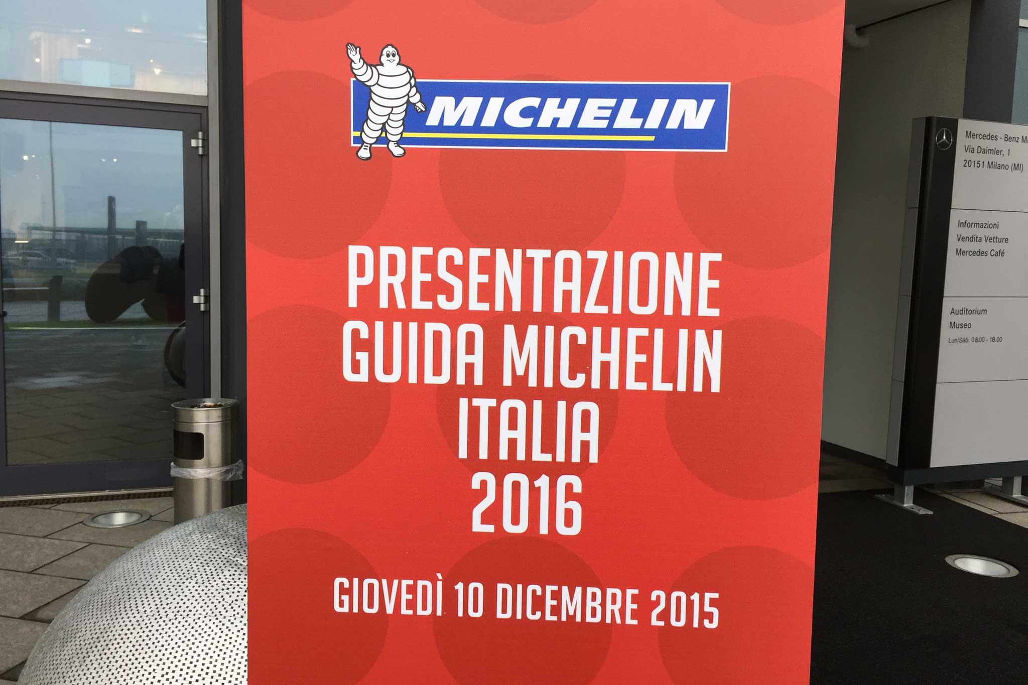 presentazione Guida Michelin 2016