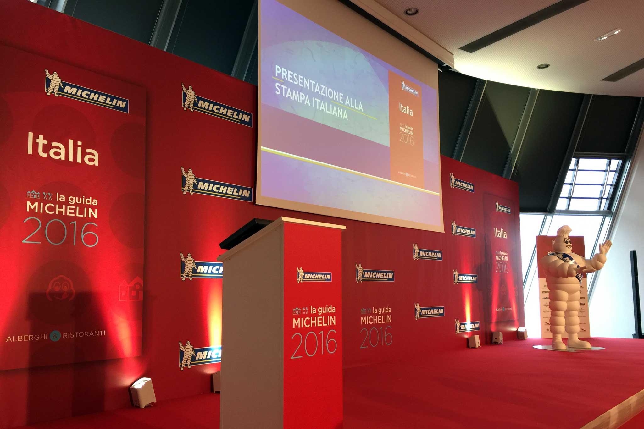 presentazione Michelin 2016 Italia