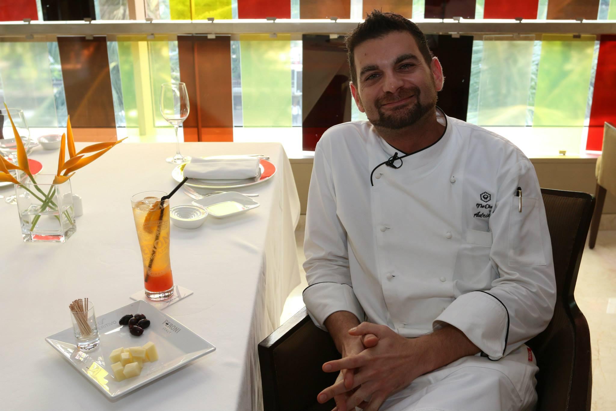 Adriano Baldassarre chef Mumbai