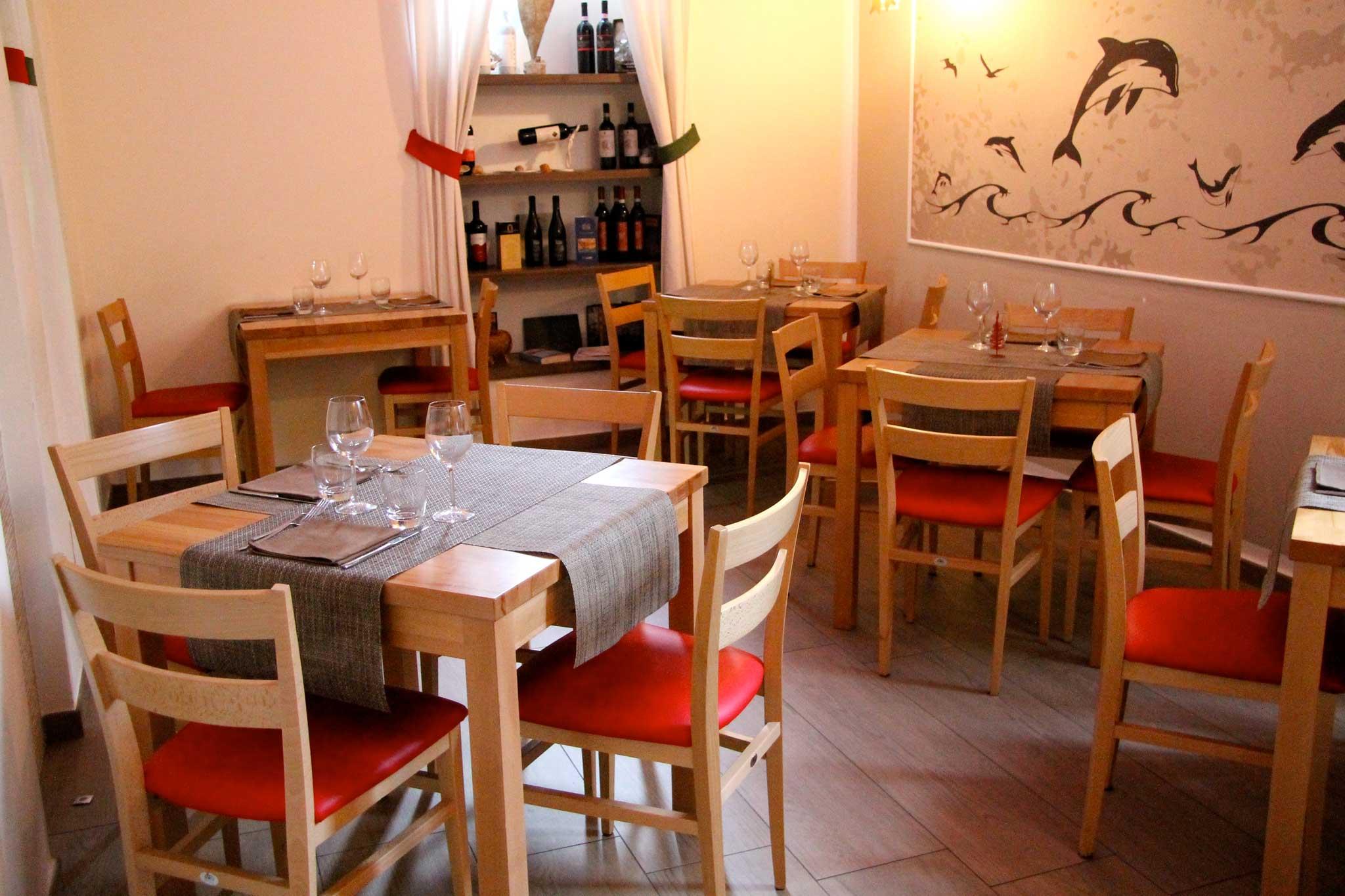 Cetaria ristorante sala