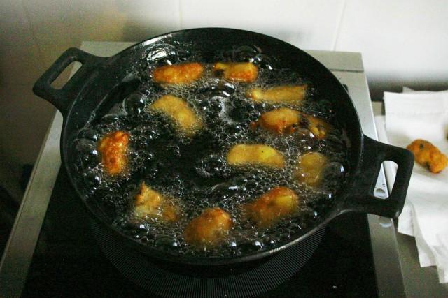 Frittelle di Carnevale Iginio Massari 11 frittura
