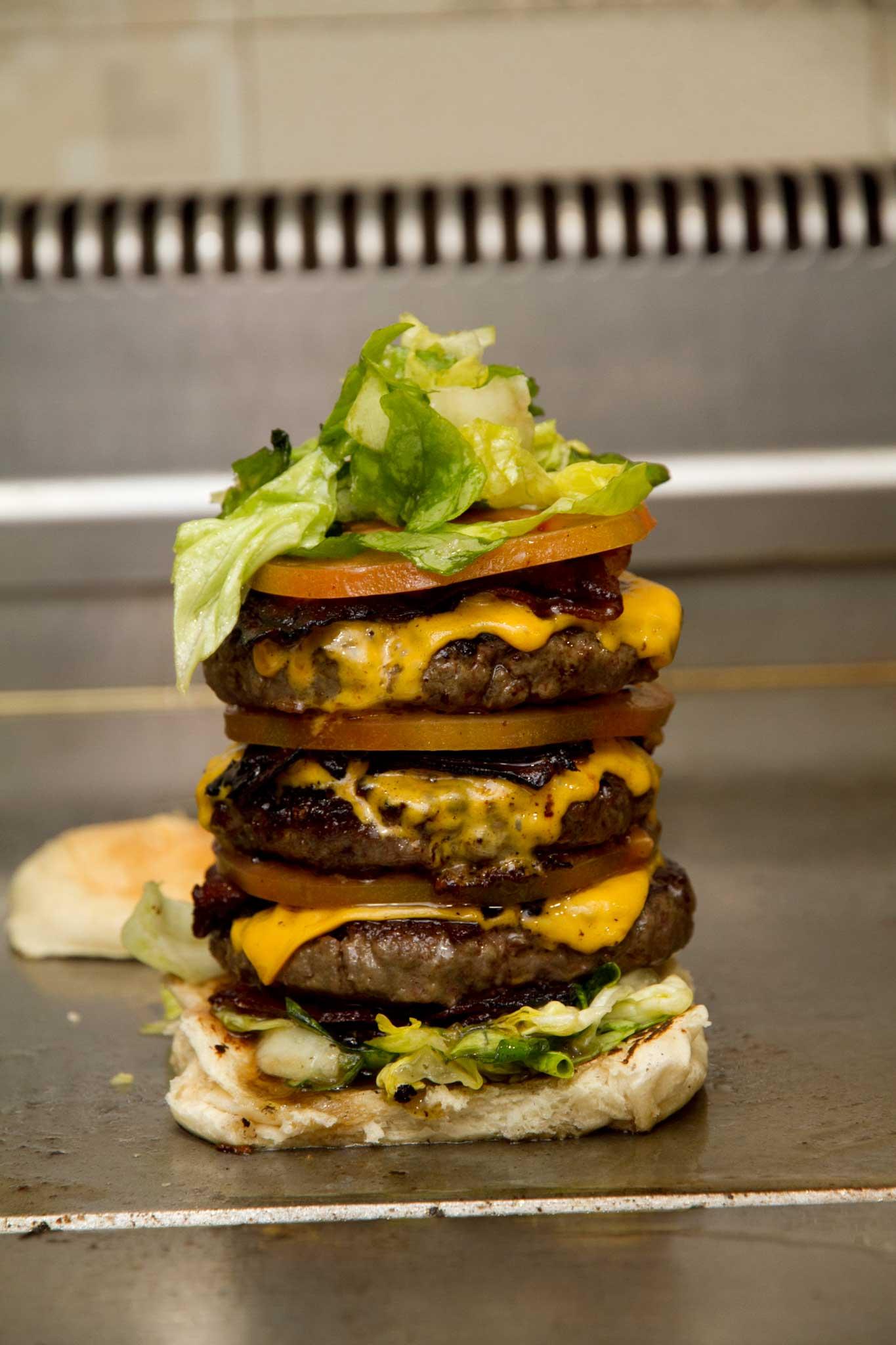 Hamburger Tortora pila