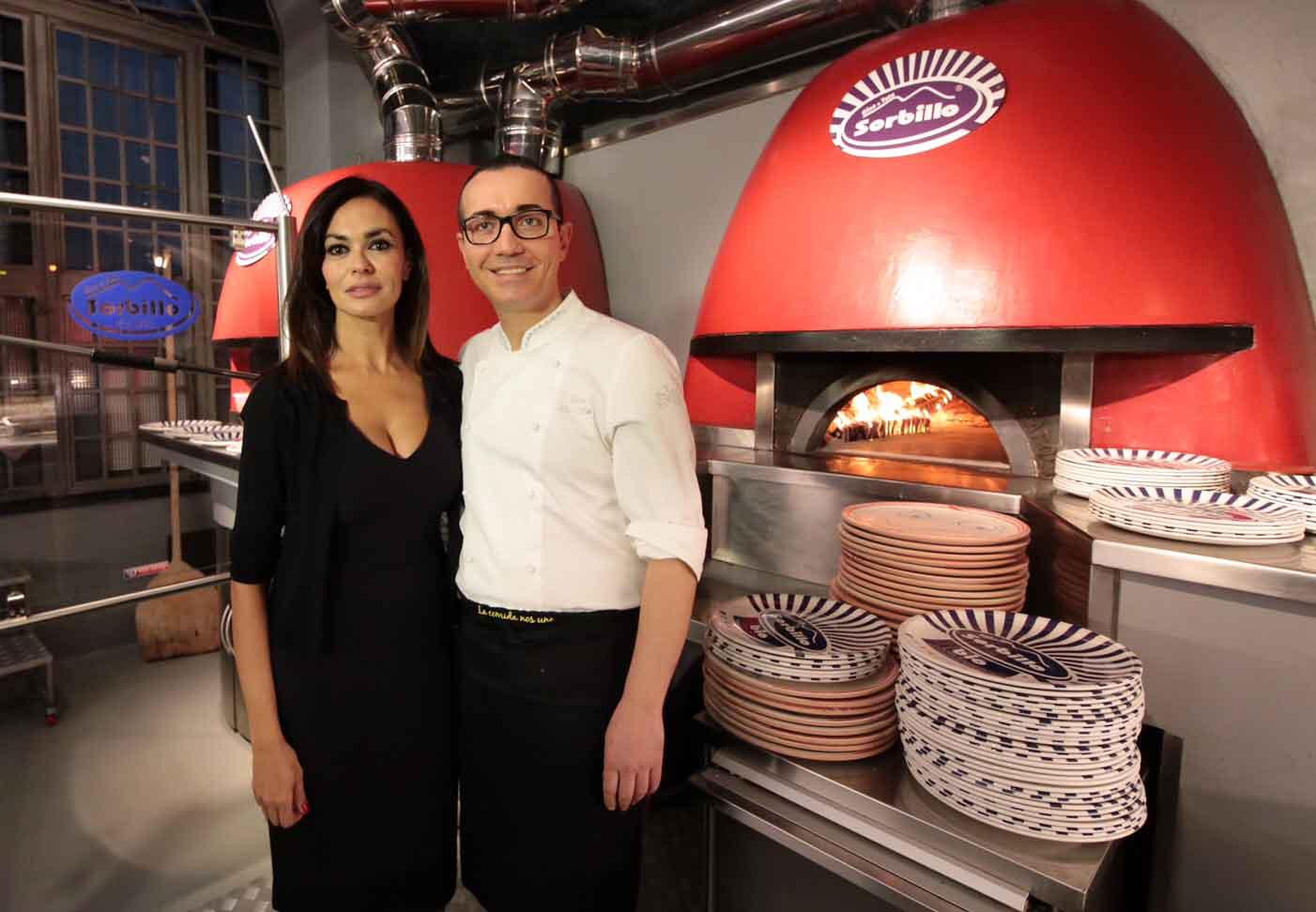 Maria Grazia Cucinotta Gino Sorbillo