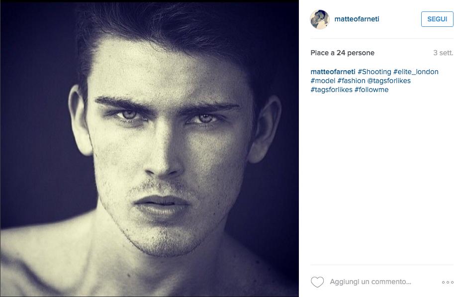 Matteo Farneti modello