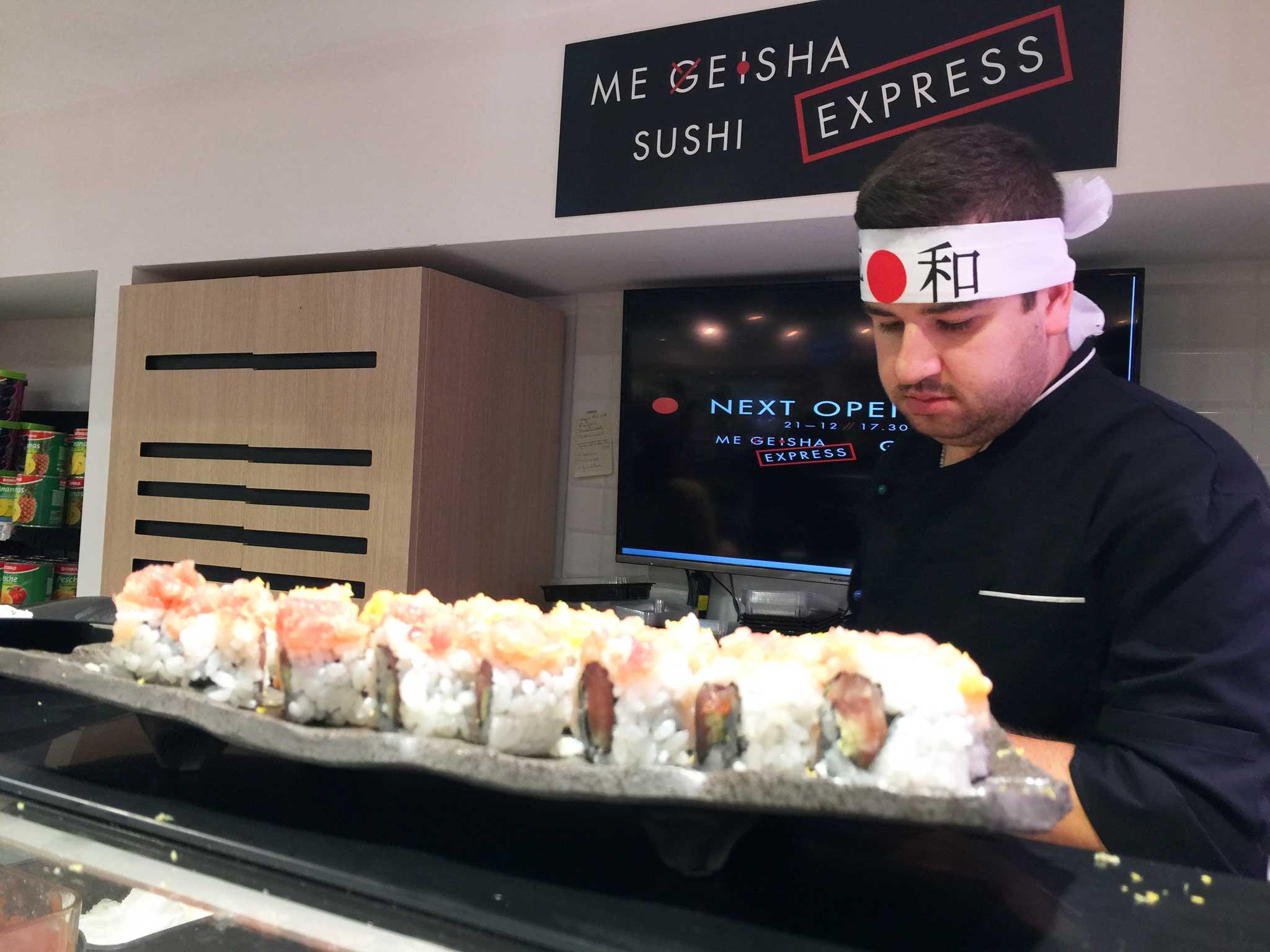 Me Geisha sushi Napoli