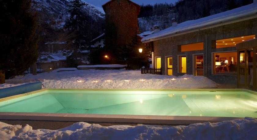 Courmayeur mangiare e sciare con heston blumenthal - Hotel courmayeur con piscina ...