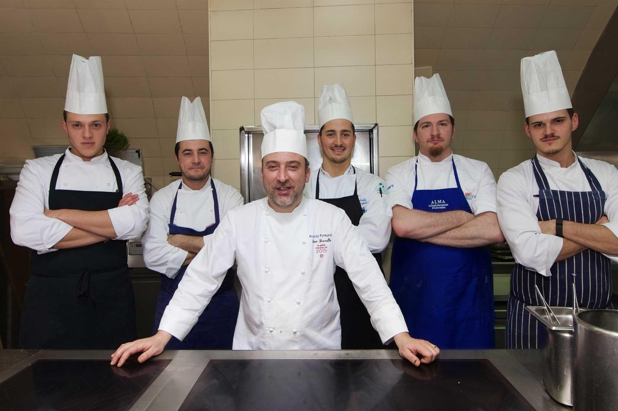 brigata Palazzo Petrucci ristorante stella Michelin
