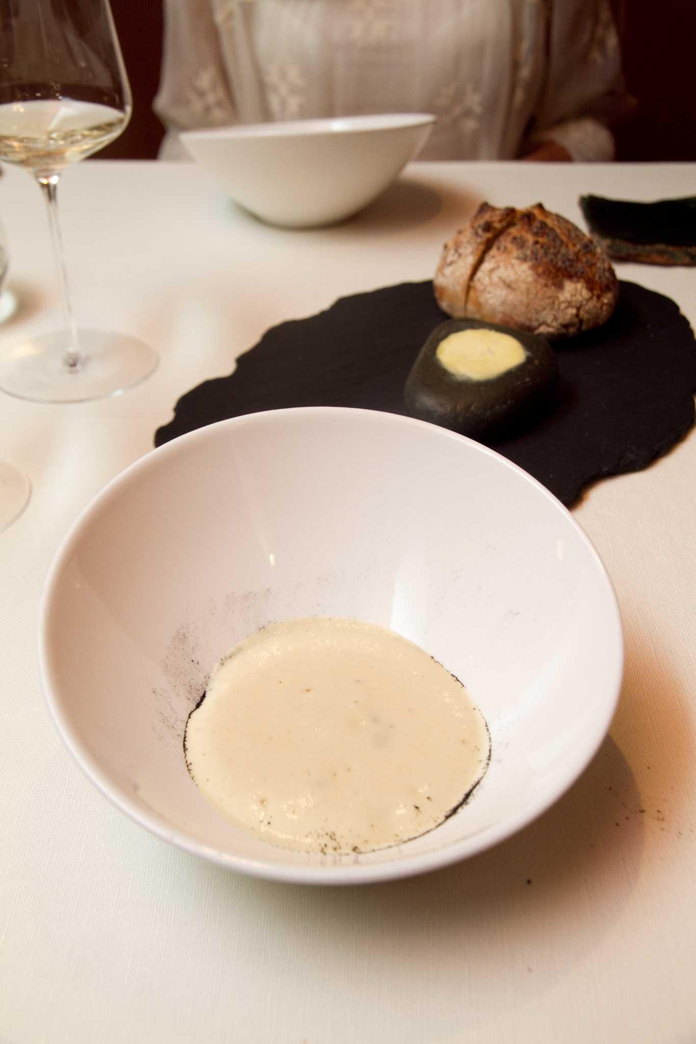 crema di patate e cozze