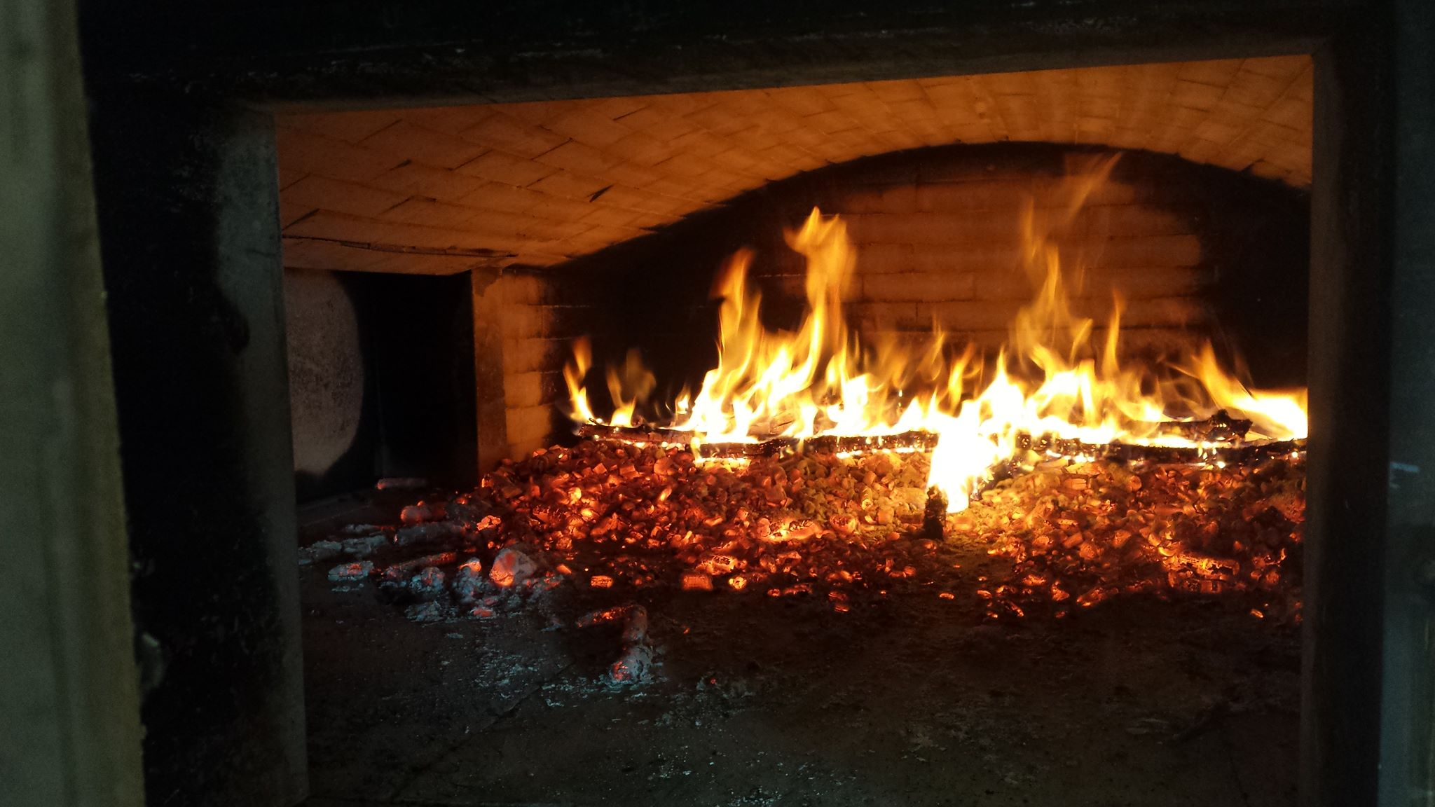 forno pane fuoco