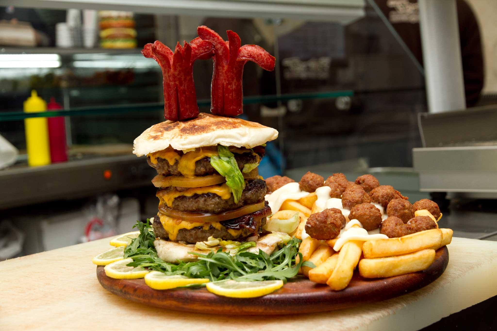 hamburger Tortora 3XL