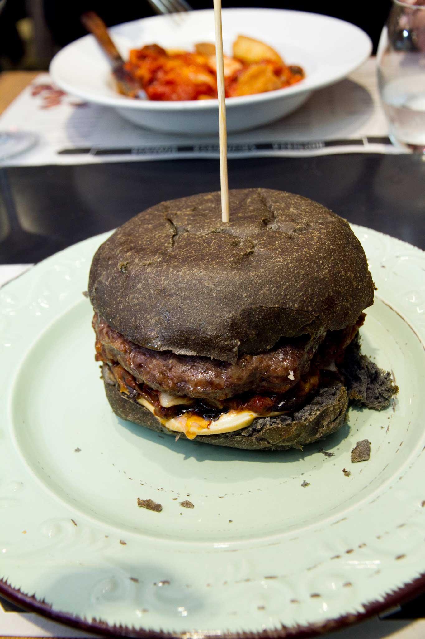 hamburger parmigiana melanzane Pietro Parisi