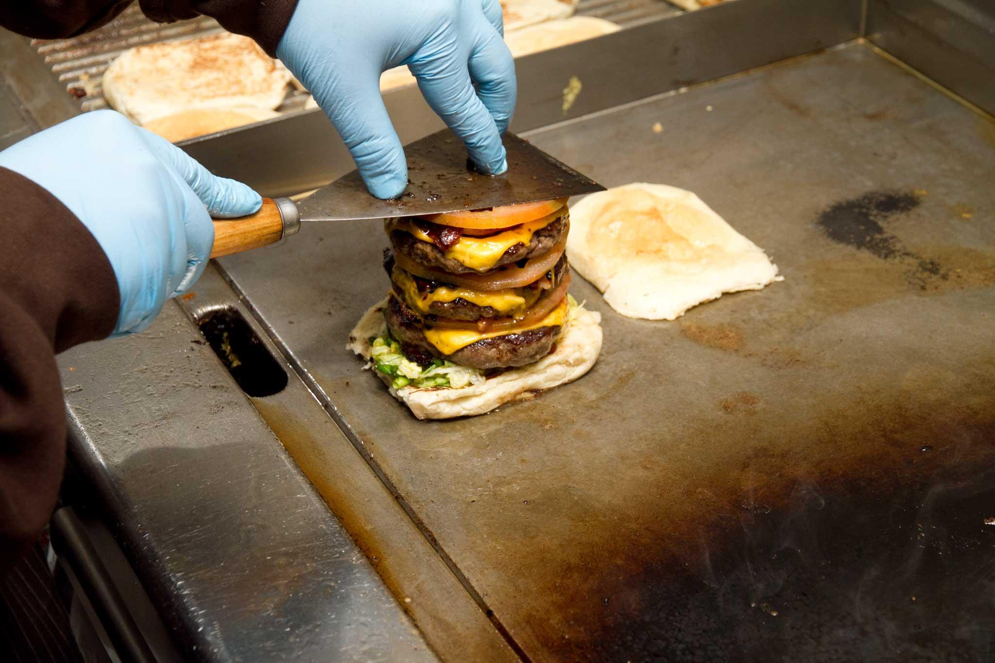 hamburger preparazione