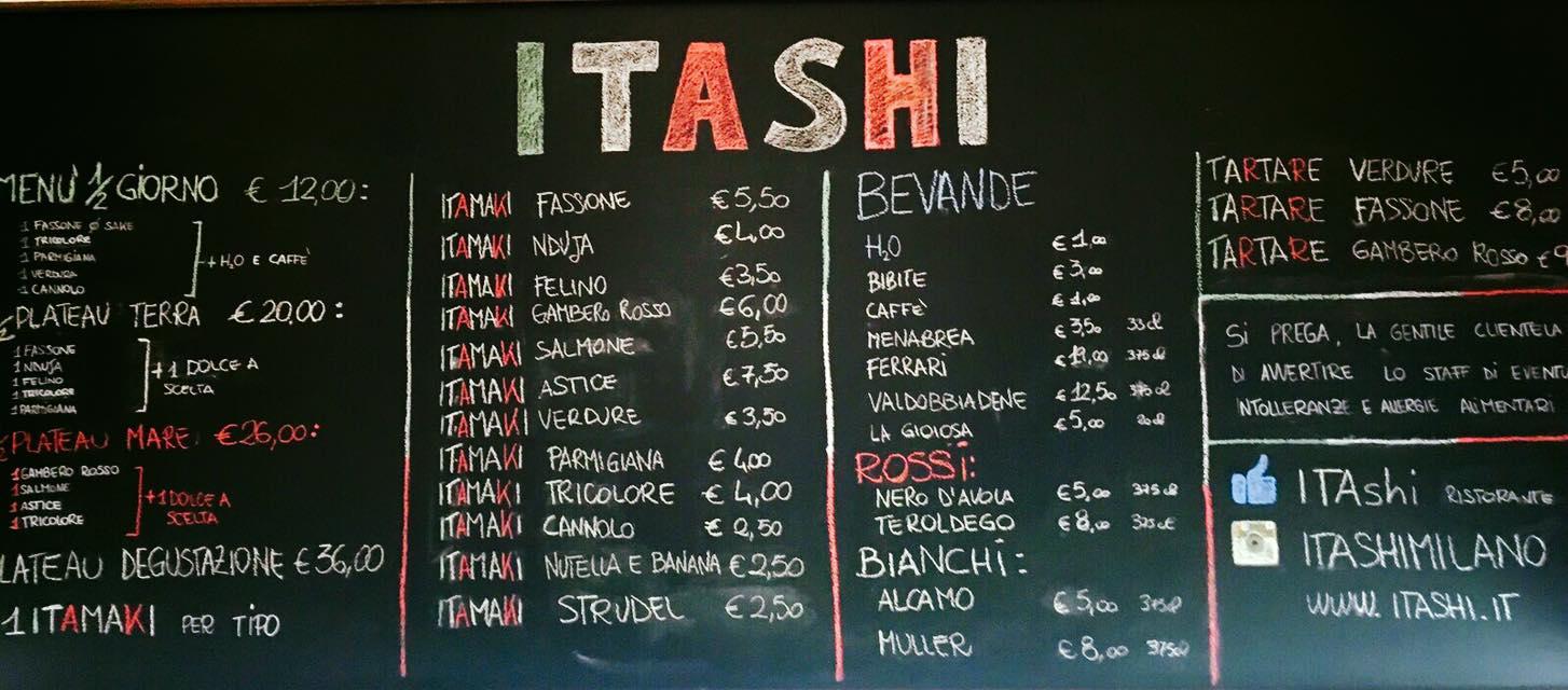 lavagna ITAshi
