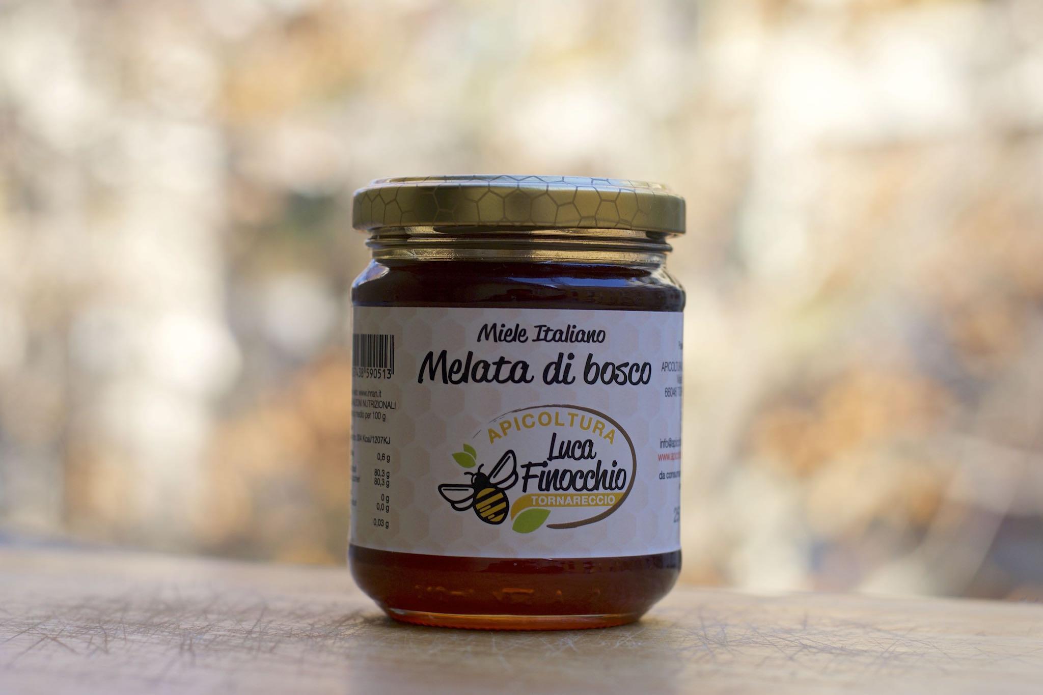 miele di melata bosco apicoltura Finocchio