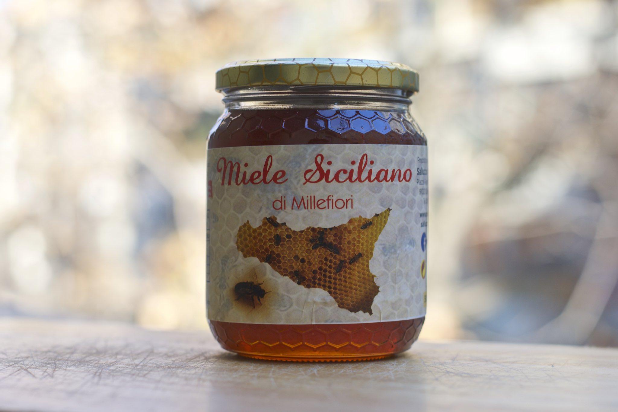 miele millefiori api nere