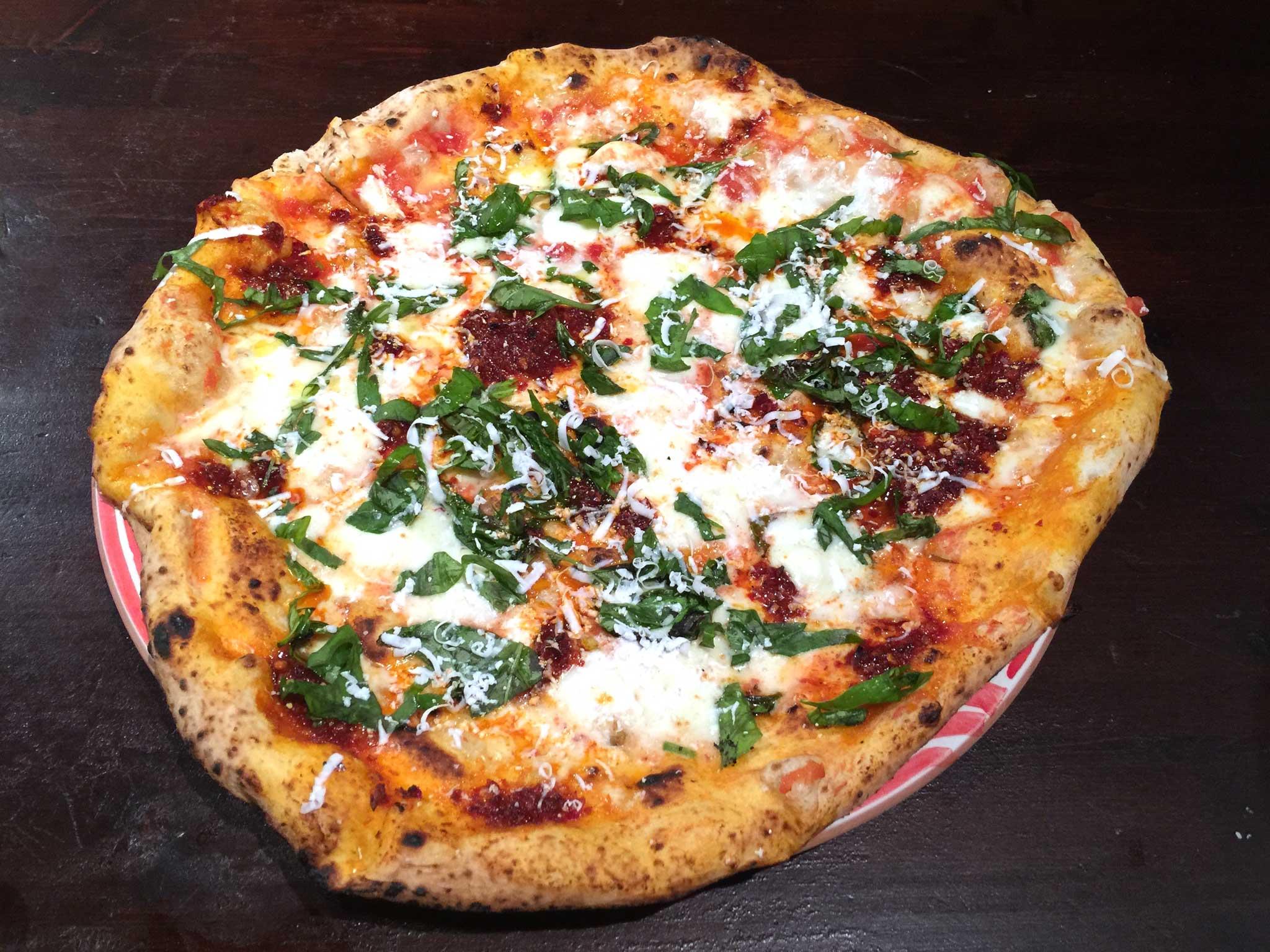 pizza nduja Sorbillo