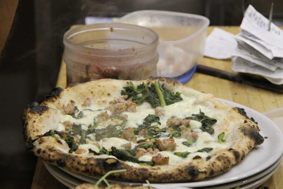 pizza salsiccia broccoli