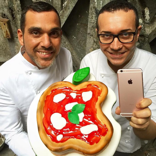pizza torta apple Sorbillo