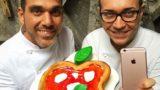 Apple a Napoli. Da Sorbillo l'accoppiata pizza e torta con Infante