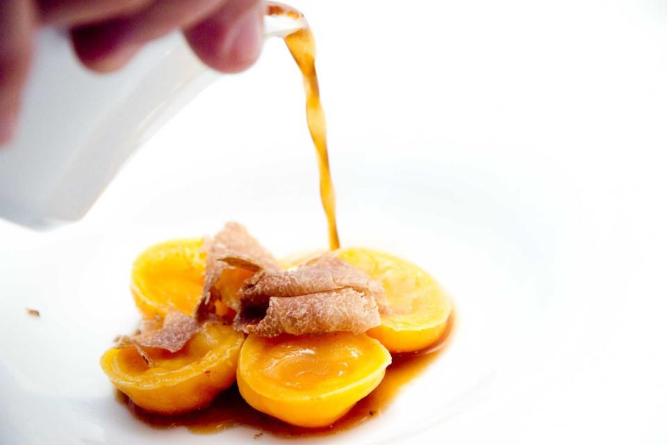 ravioli uovo tartufo