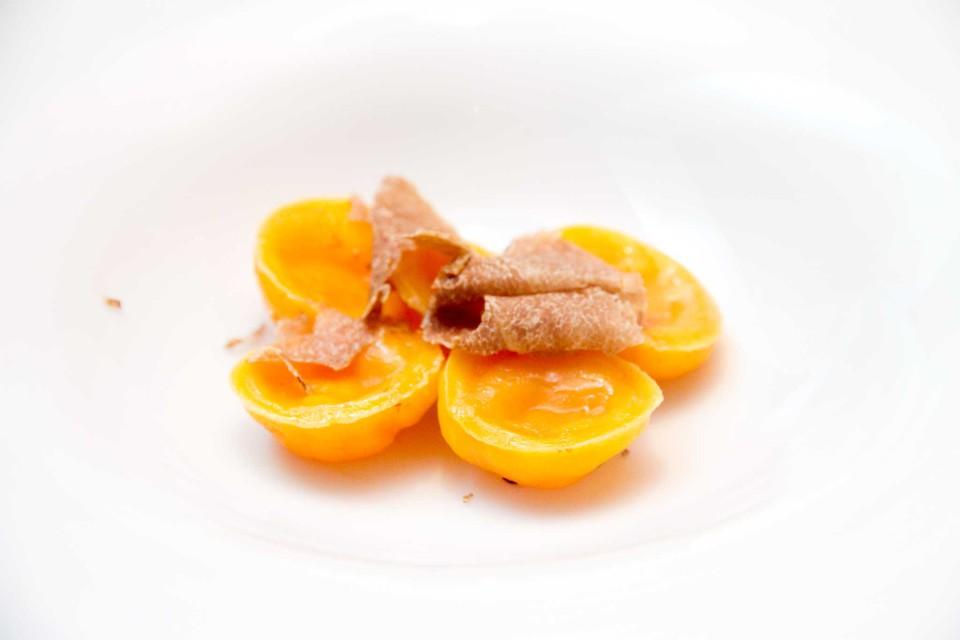 raviolo uovo